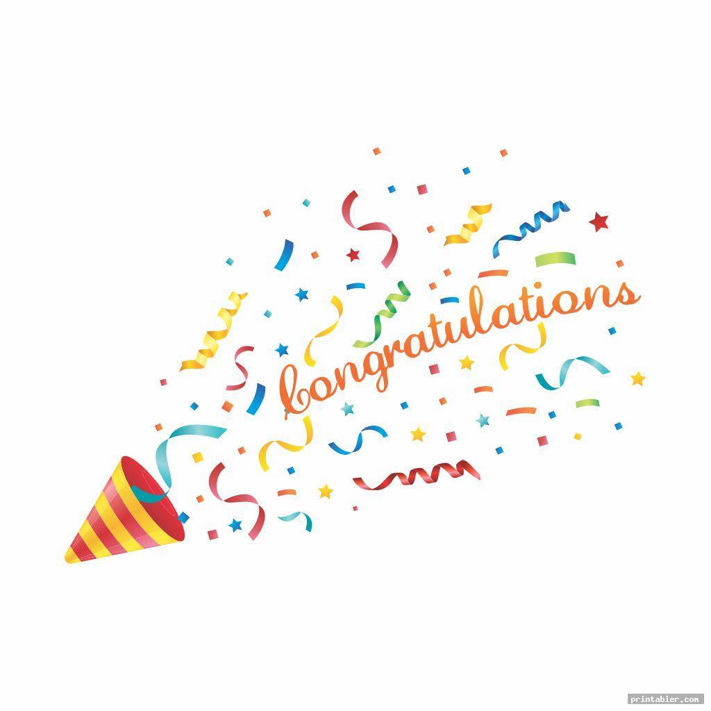 Congratulations Banner Printable