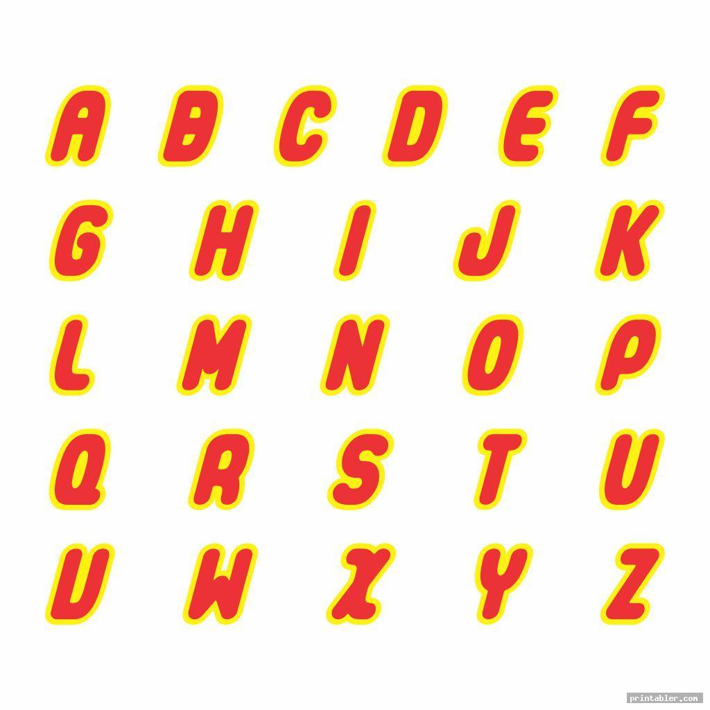 Lego Font Printable