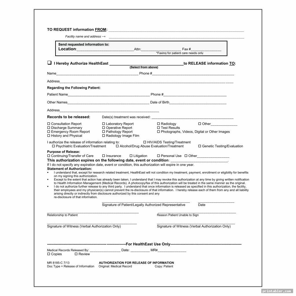 cool blank hospital discharge papers printable