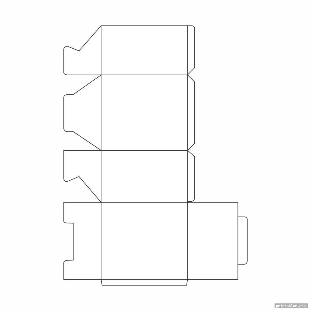 Large Box Template Printable