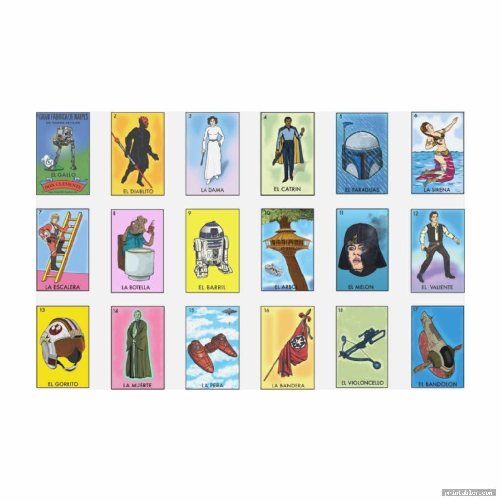 photo relating to Free Printable Loteria Cards identify No cost Printable Pics - Web site 4 -