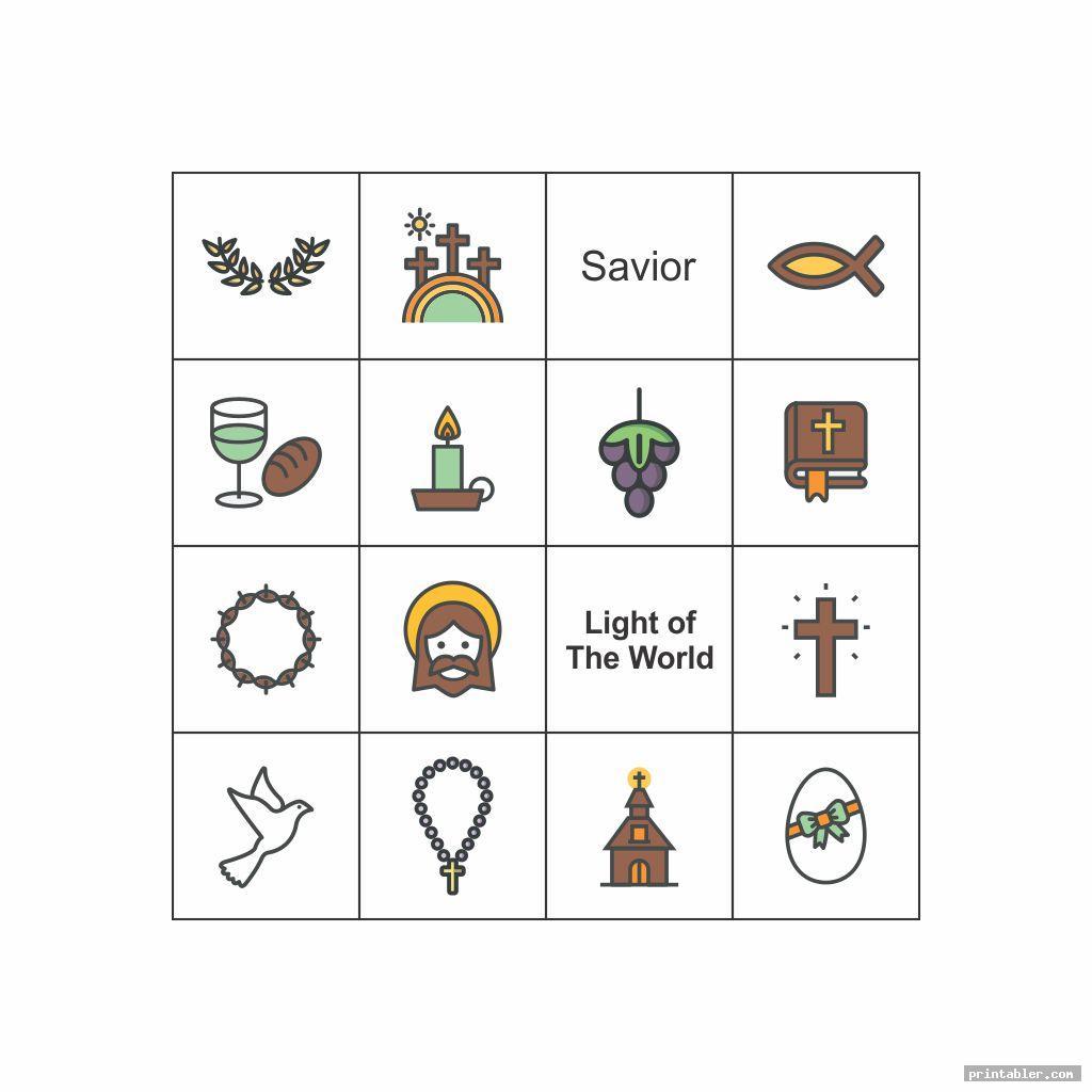 cool nativity bingo printable