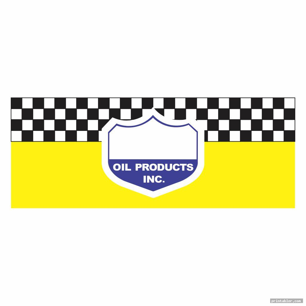 Oil Can Labels and Designs - Printable