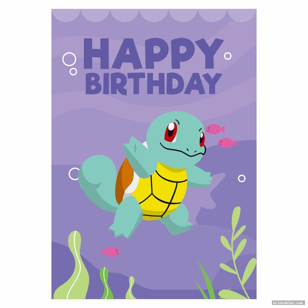 cool pokemon birthday cards printable