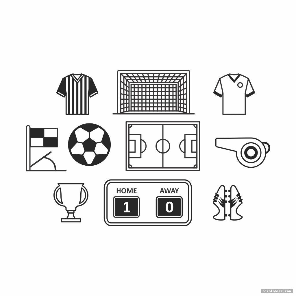 cool soccer s printable