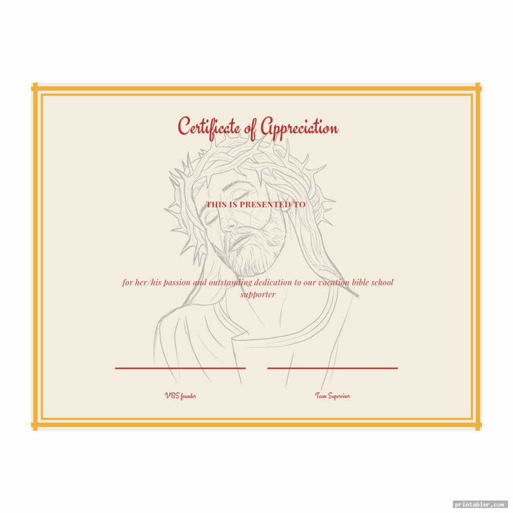 cool vacation bible school certificate templates printable
