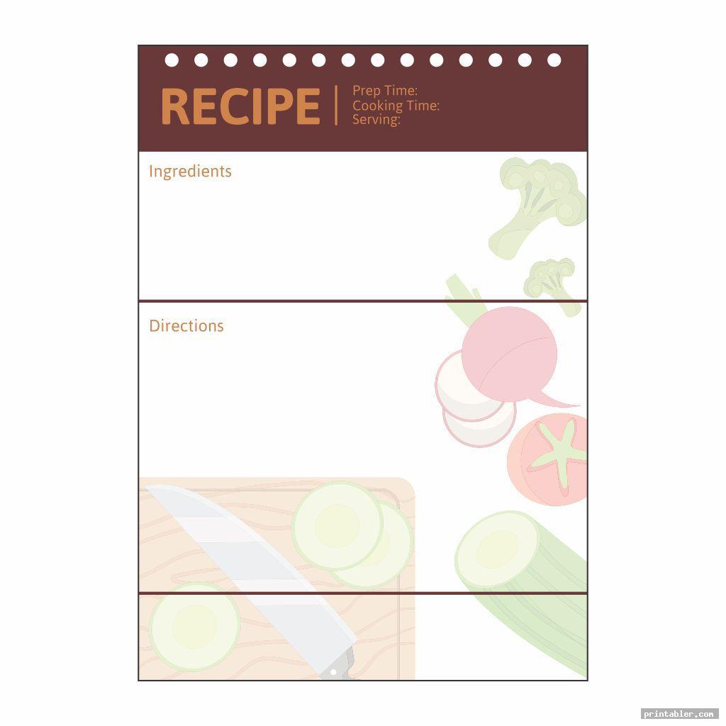 Recipe and Cookbook Printables