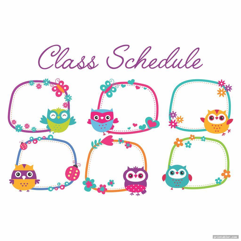 cute owl themed classroom s printable