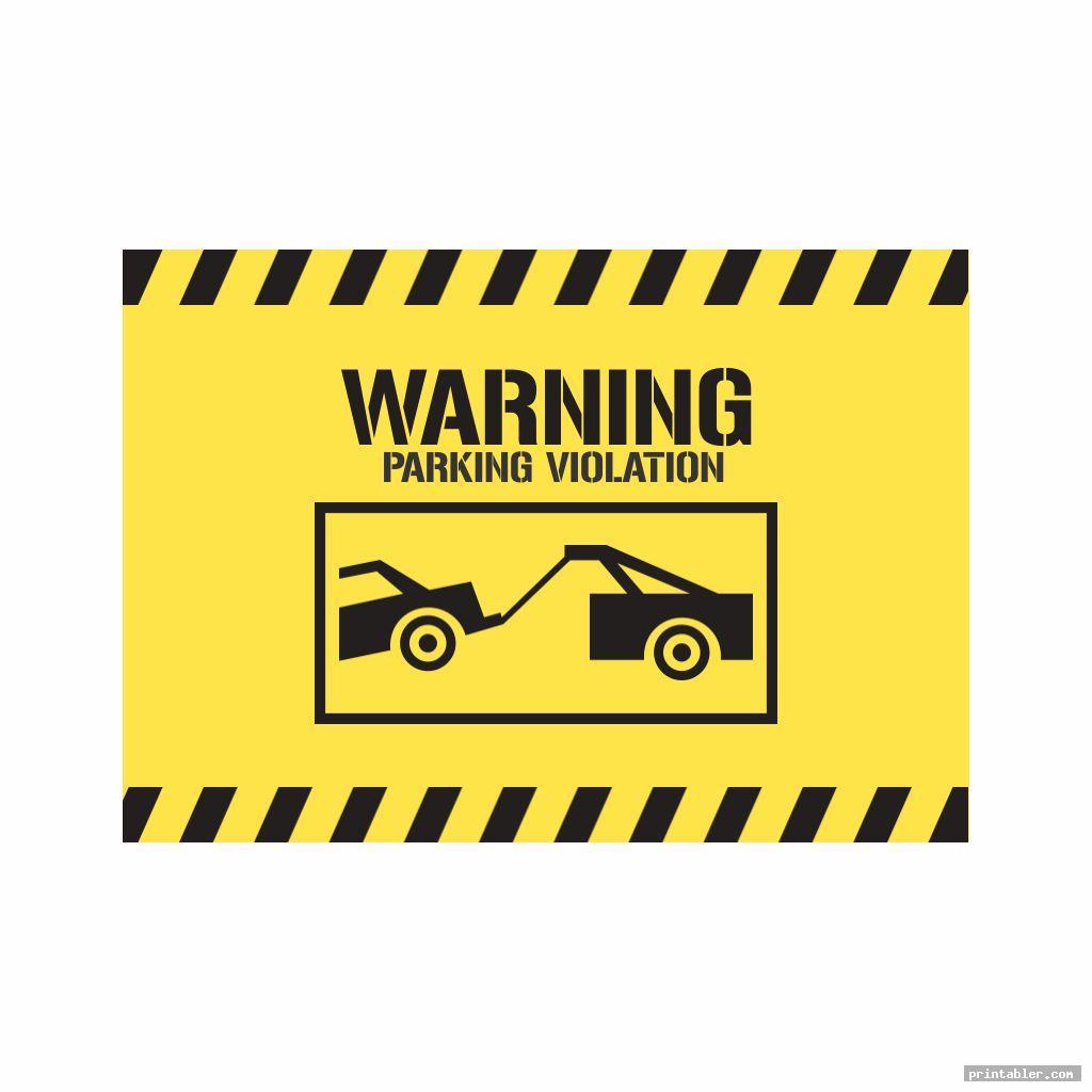 fake parking ticket template word printable image free