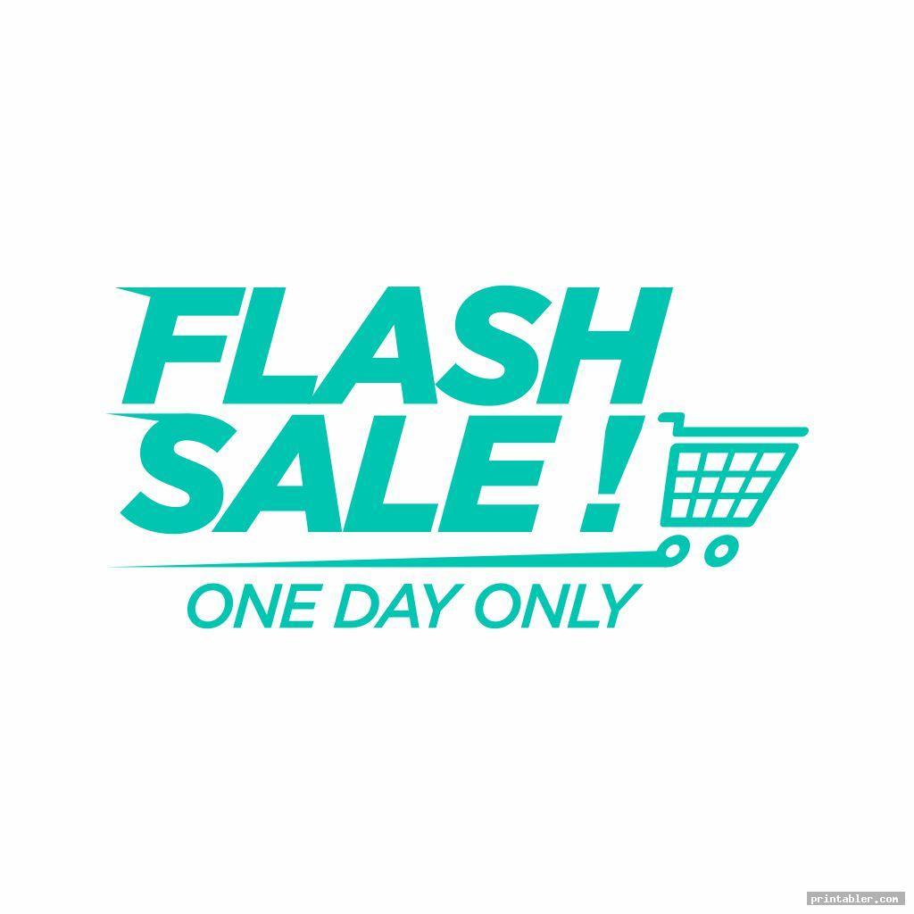 flash retail sale signs printable