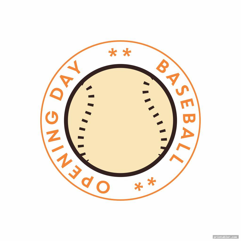 opening day baseball gift tags printable