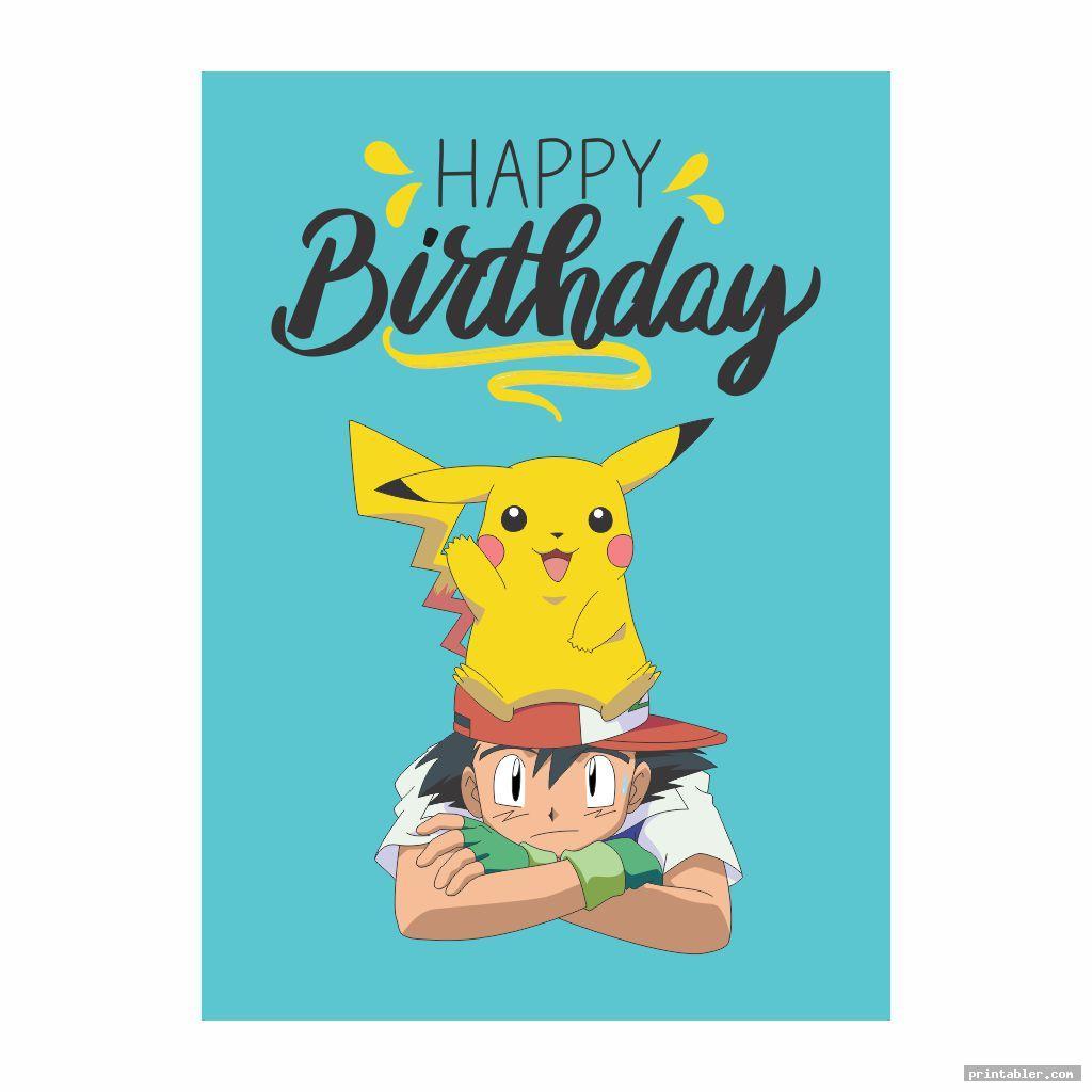 pokemon birthday cards printable image free