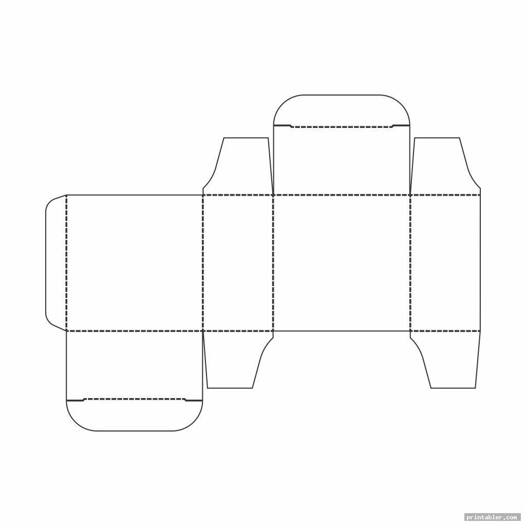 simple large box template printable