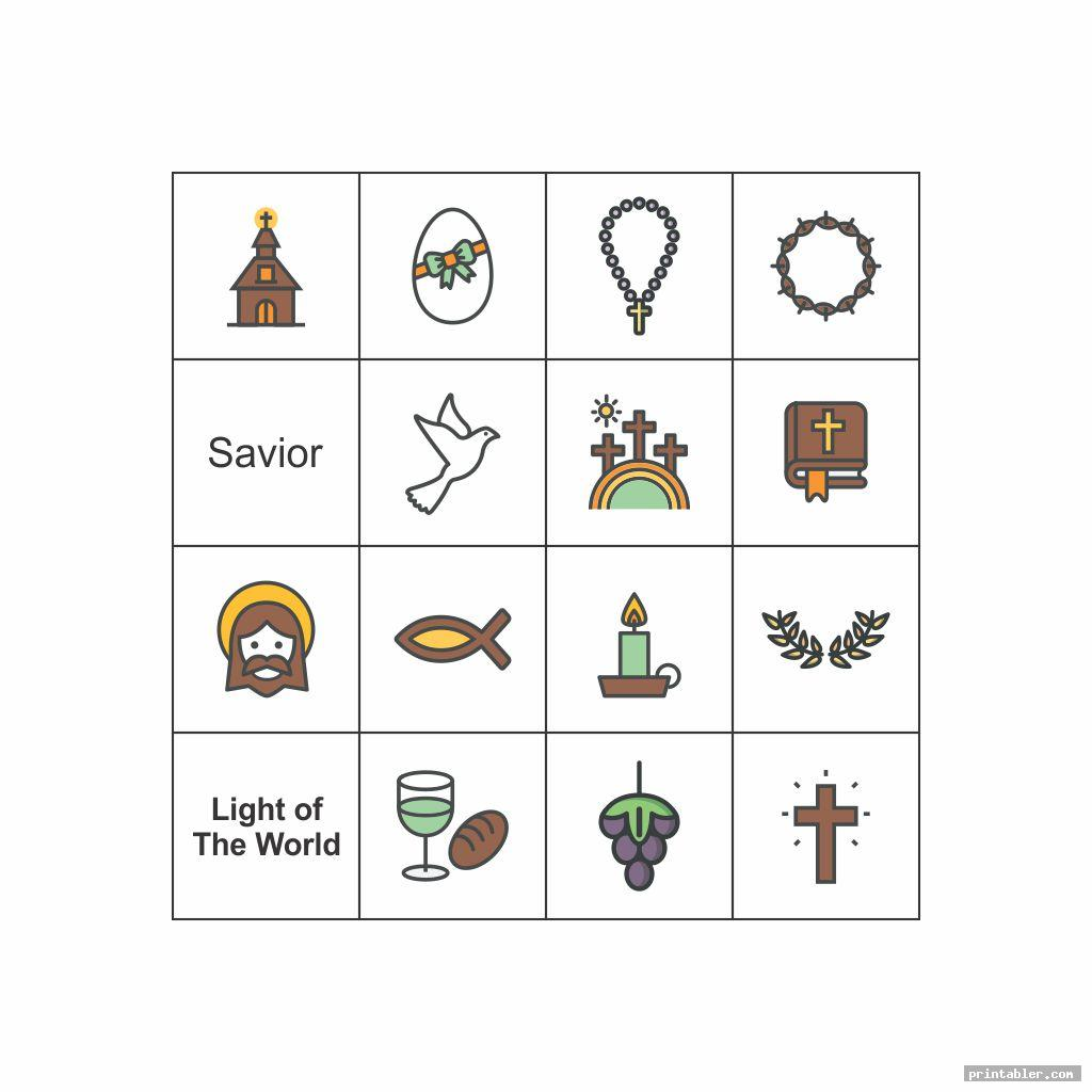 simple nativity bingo printable