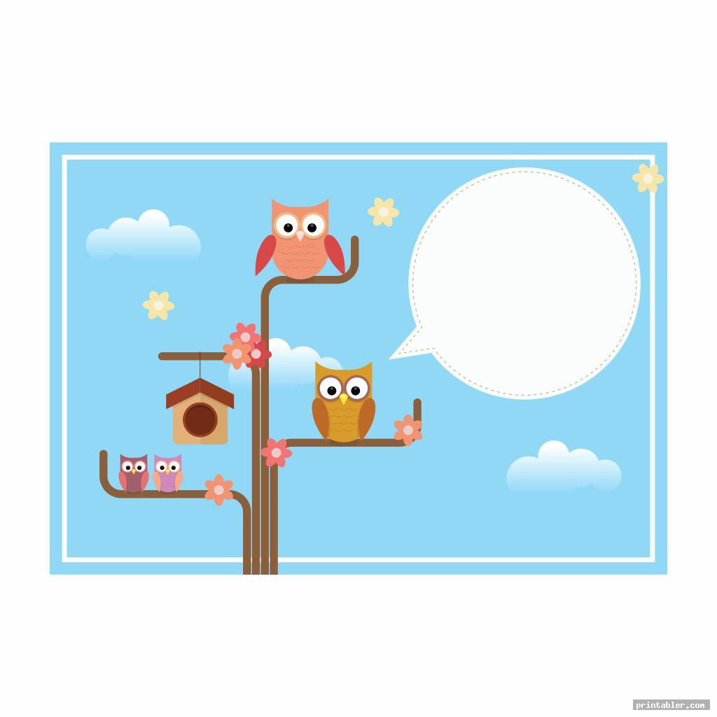 simple owl themed classroom s printable
