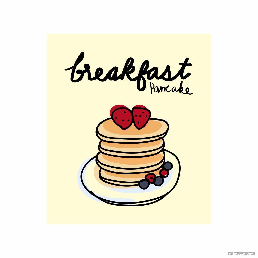Pancake Breakfast Flyer Template Printable