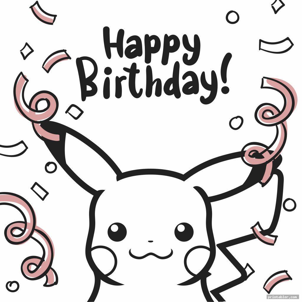 simple pokemon birthday cards printable