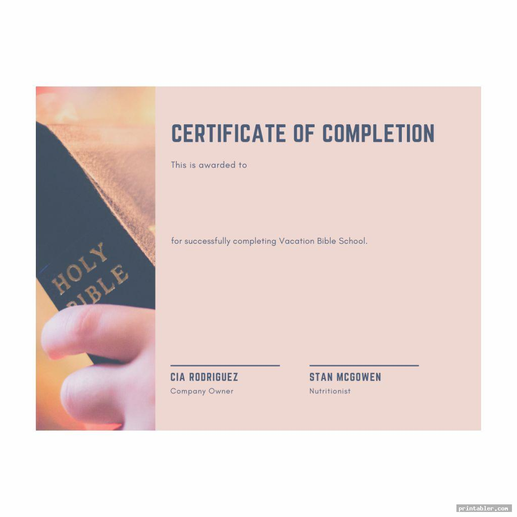 simple vbs certificate templates printable