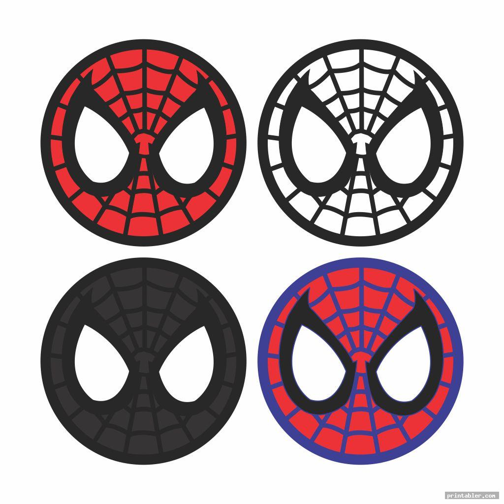 spiderman avengers cupcake toppers printable