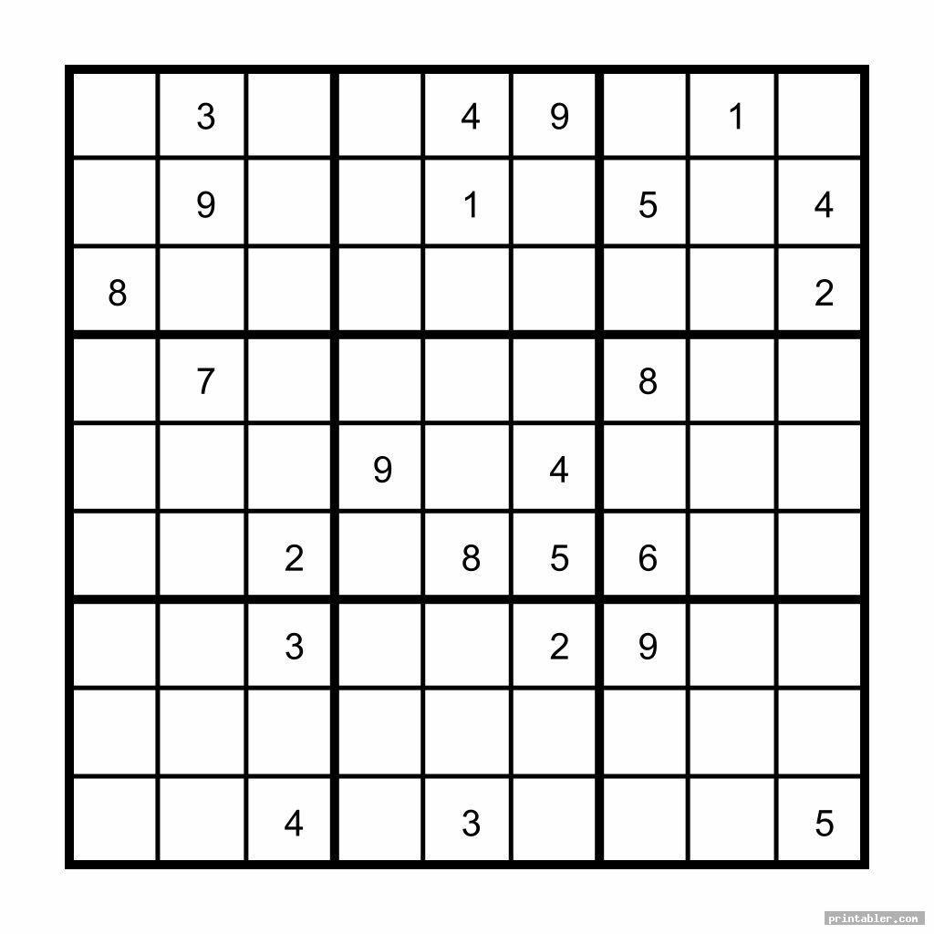 sudoku brain games for seniors printable