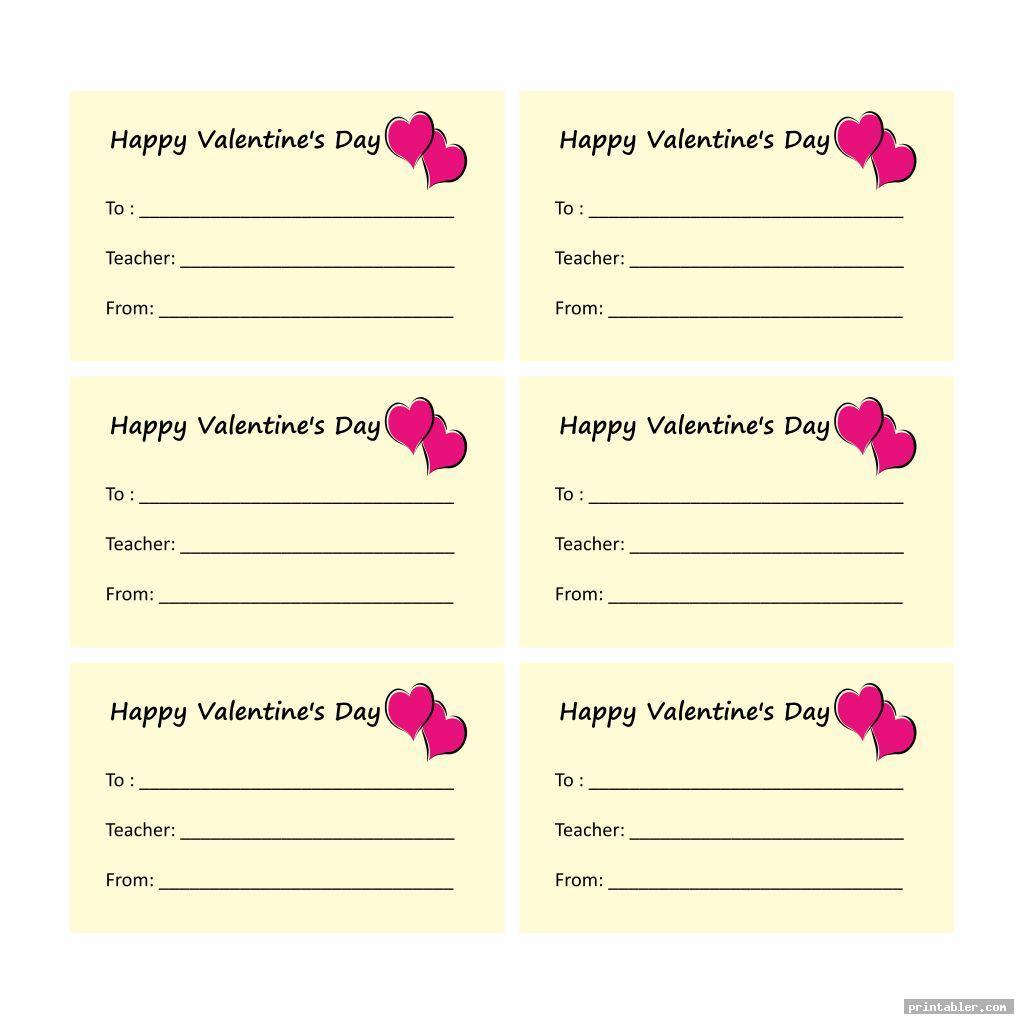 basic valentine candy gram template printable