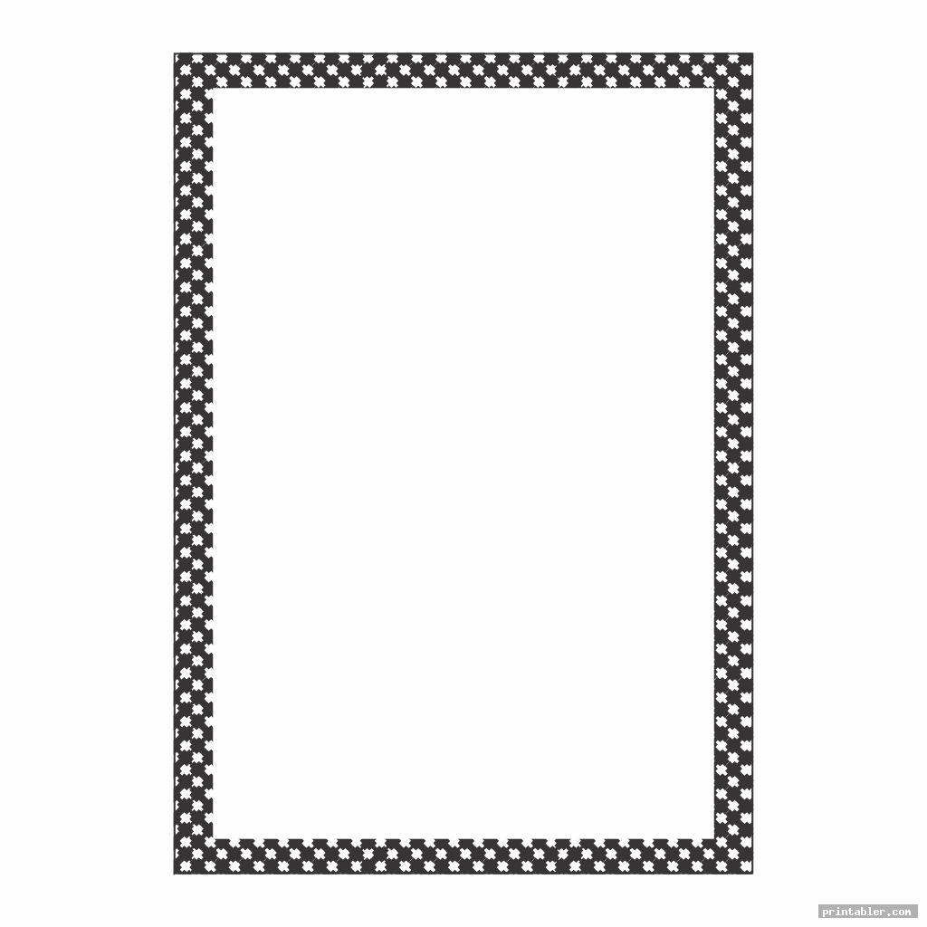 checkerboard stationery black and white printable