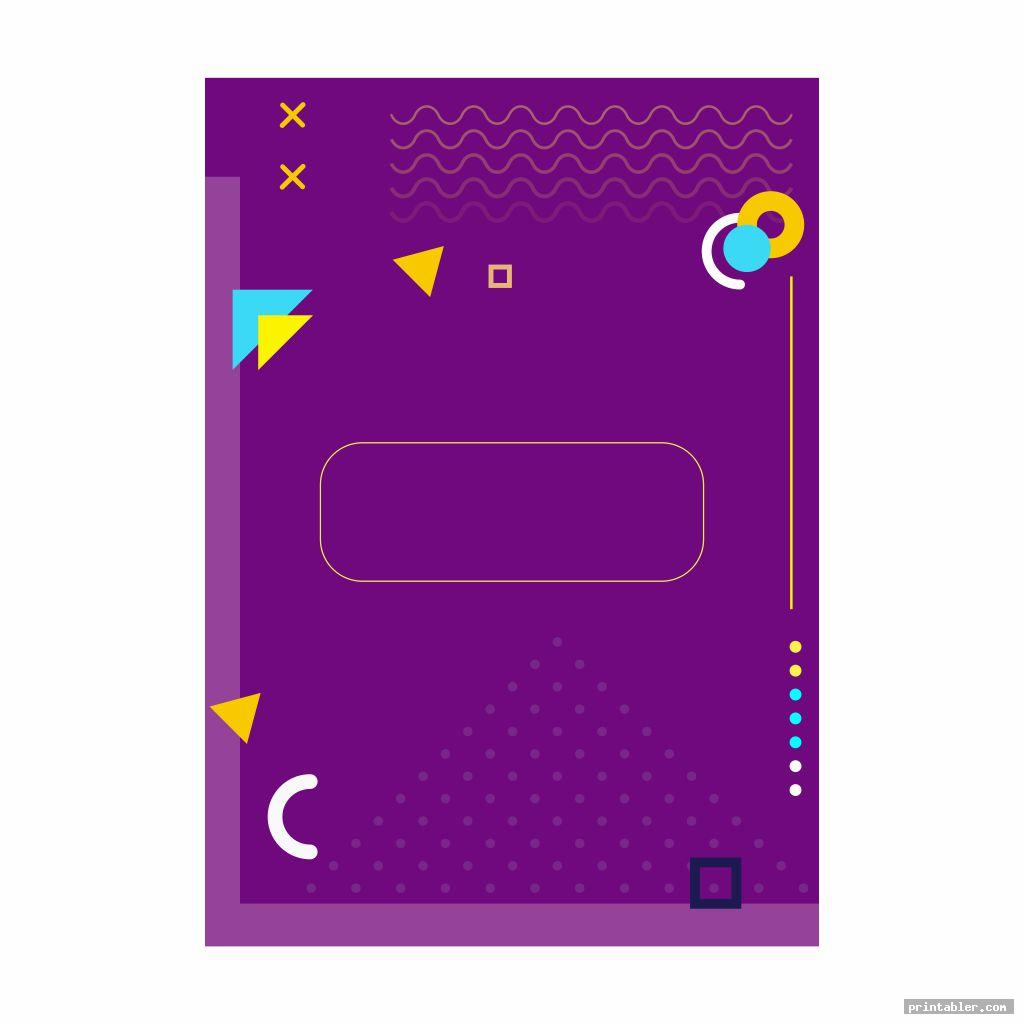 cool homework binder cover printable
