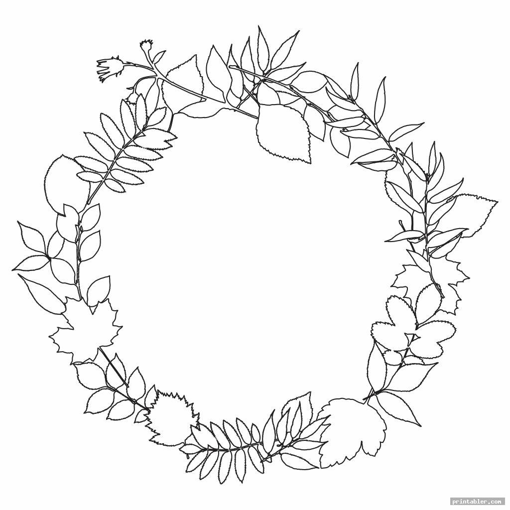 cool wreath patterns printable