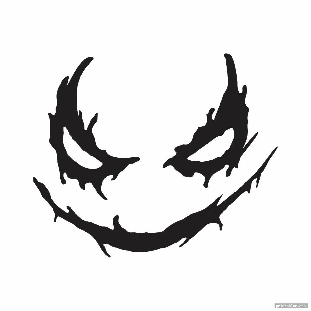 joker pumpkin template printable template for use