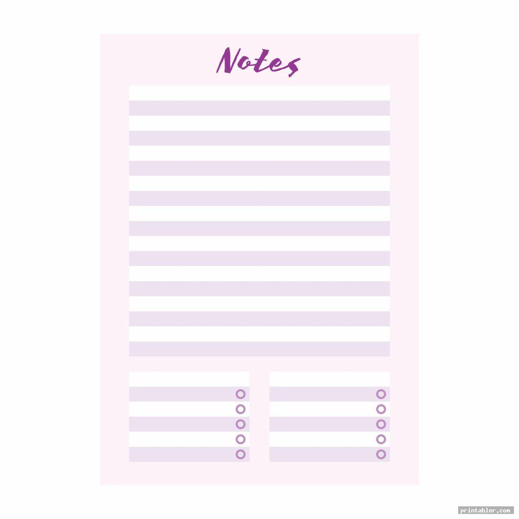 notes college binder s printable