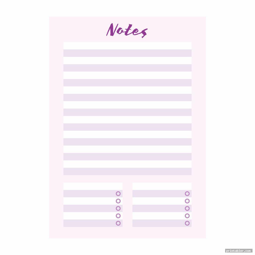 notes college binder s printable
