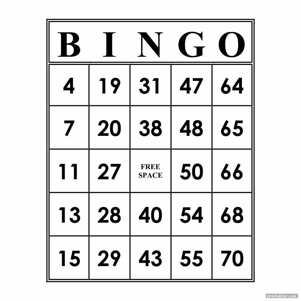 This is a photo of Stupendous Bingo Calls Printable