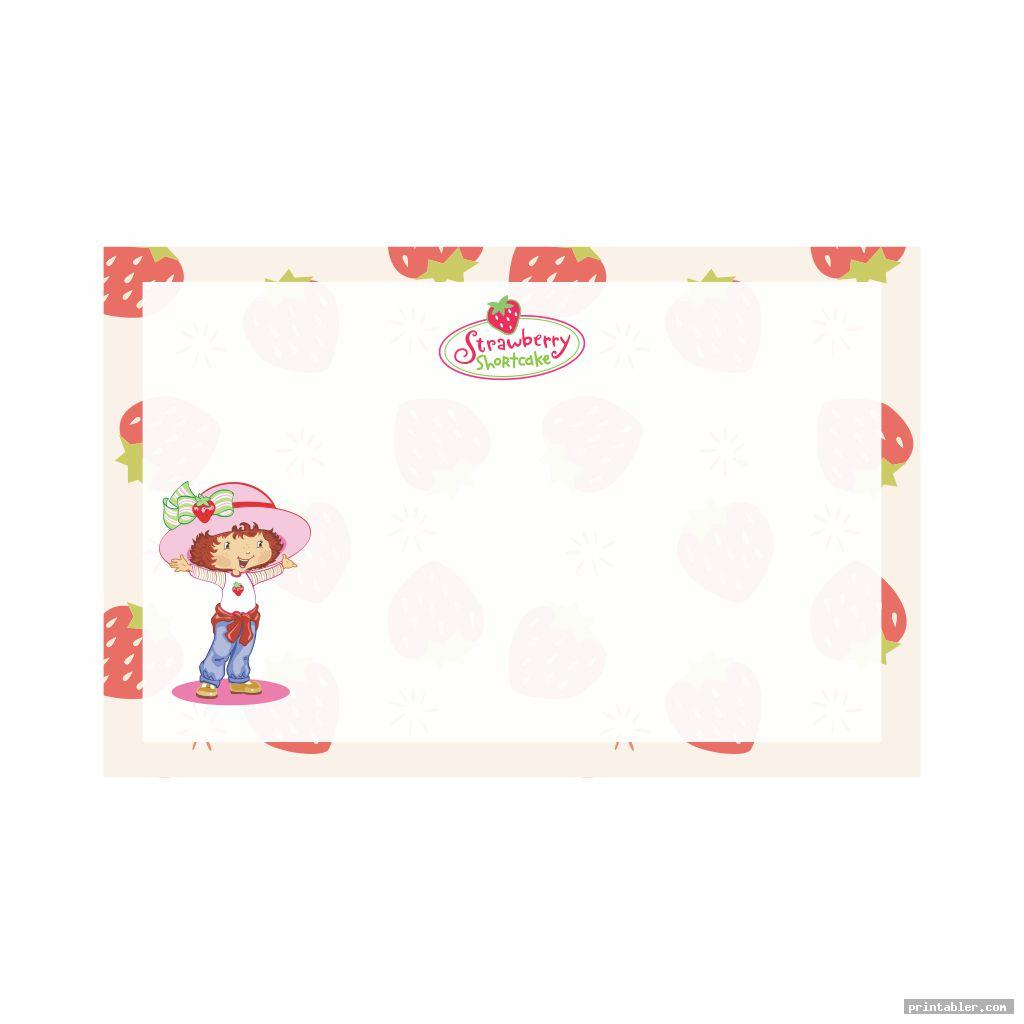 strawberry shortcake labels printable image free