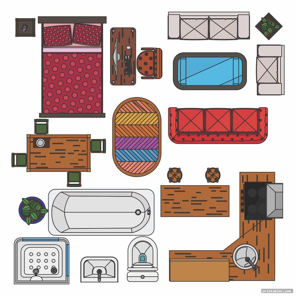 Furniture Templates Printable